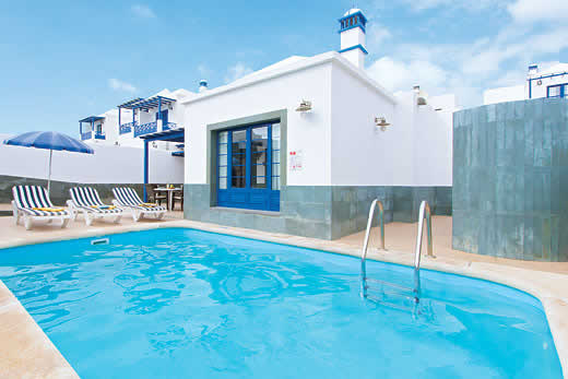 £349.00 for Lanzarote self catering holiday villa
