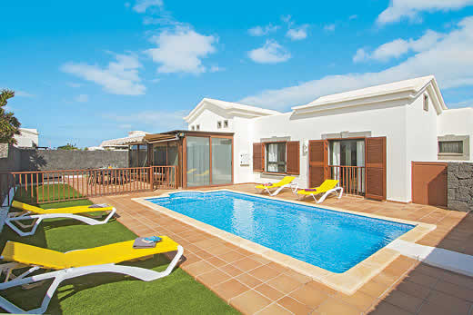 Lanzarote a great place to enjoy a self catering holiday