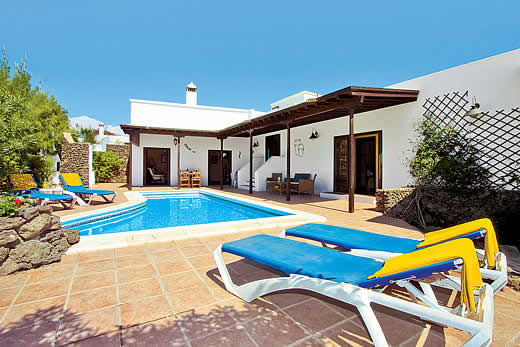 £1445.00 for Lanzarote self catering holiday