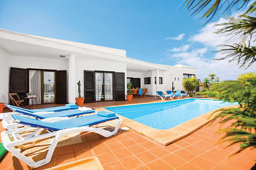 £549.00 for Lanzarote self catering holiday