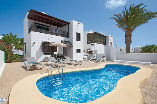 £850.00 for Lanzarote self catering holiday