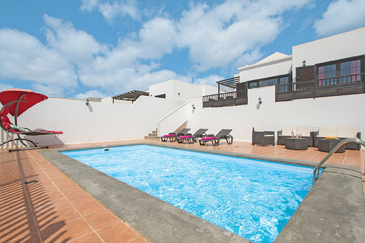 £399.00 for Lanzarote self catering holiday villa