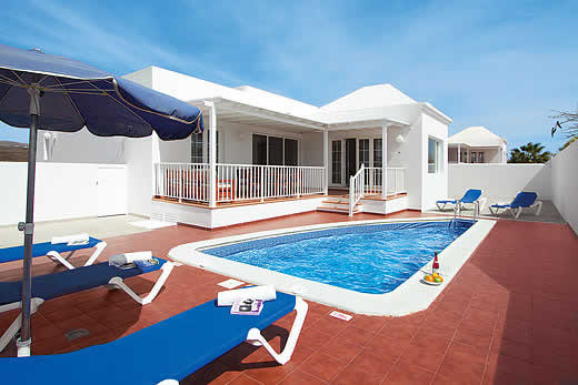 £449.00 for Lanzarote self catering holiday