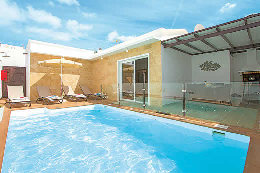 £1000.00 for Lanzarote self catering holiday