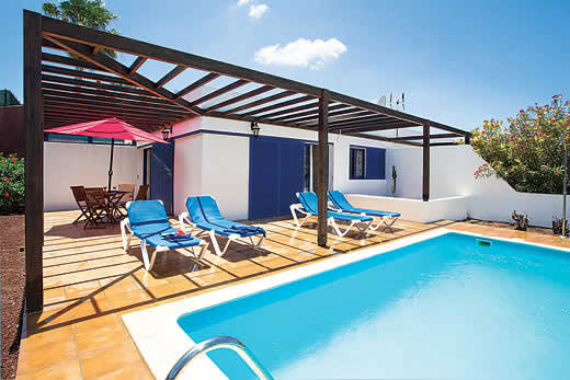 £1003.00 for Lanzarote self catering holiday