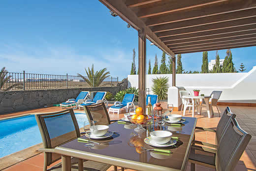 £421.00 for Lanzarote self catering holiday