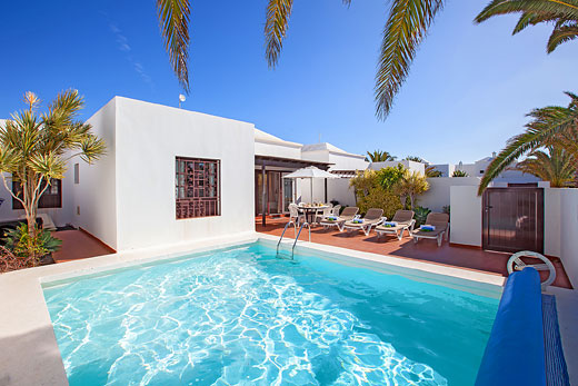 Enjoy a great self catering holiday in  Lanzarote
