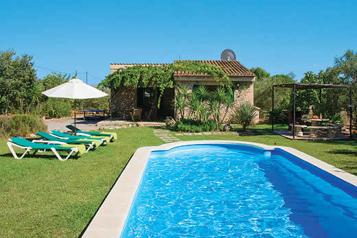 £292.00 for Mallorca self catering holiday villa