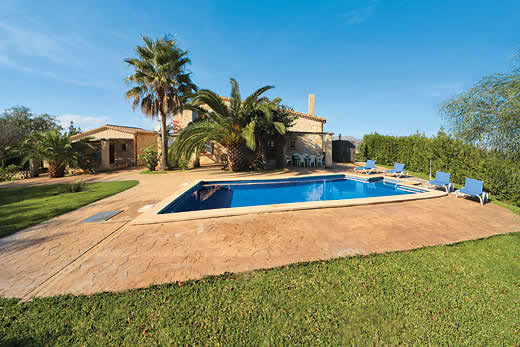 £334.00 for Mallorca self catering holiday villa