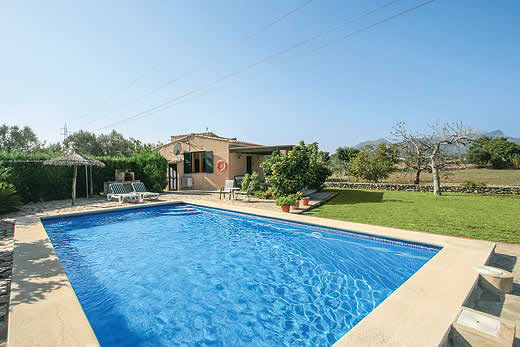 £345.00 for Mallorca self catering holiday villa