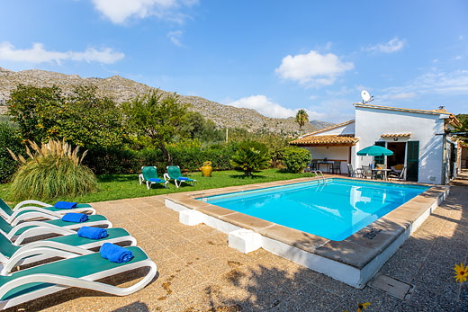 Holiday photo of Maria Pollensa villa