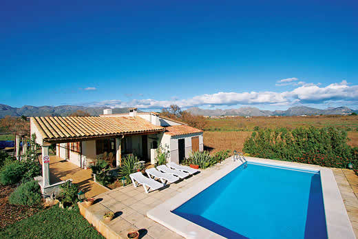 £1080.00 for Mallorca self catering holiday