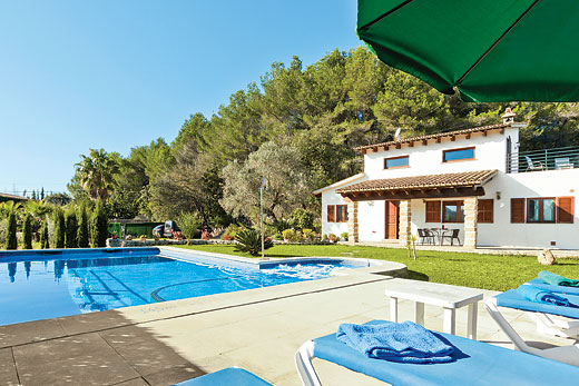 £380.00 for Mallorca self catering holiday
