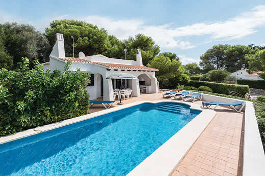 £401.00 for Menorca self catering holiday