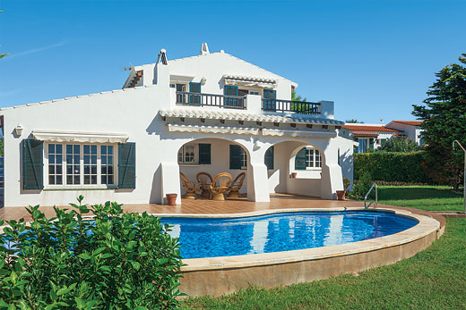 £634.00 for Menorca self catering holiday