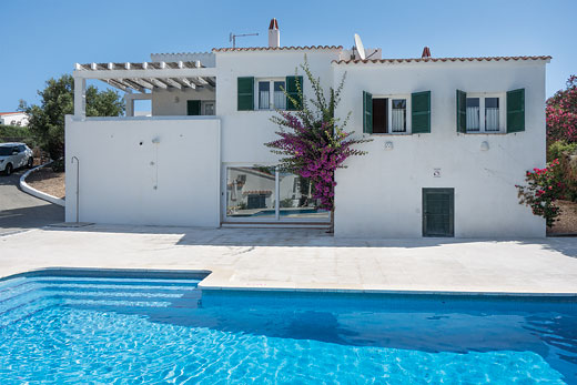 £753.00 for Menorca self catering holiday