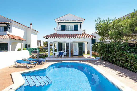 Holiday villa offer for Menorca with swimming pool