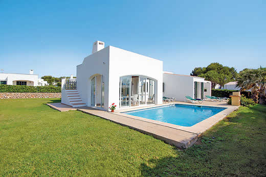 £651.00 for Menorca self catering holiday