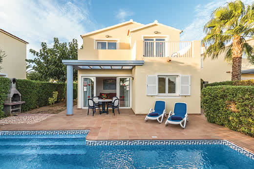 £662.00 for Menorca self catering holiday