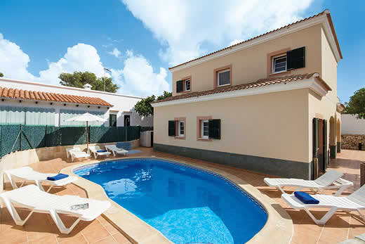 £366.00 for Menorca self catering holiday