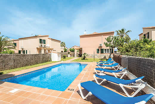 £359.00 for Menorca self catering holiday