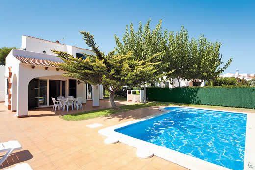 £338.00 for Menorca self catering holiday