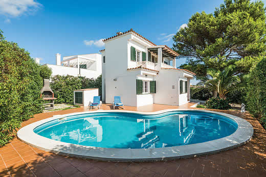 £387.00 for Menorca self catering holiday