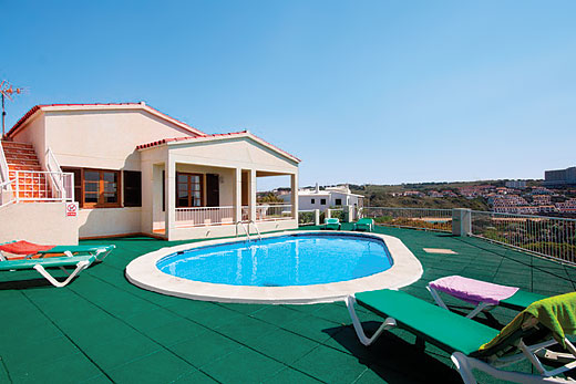 £369.00 for Menorca self catering holiday