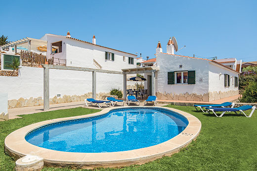 £433.00 for Menorca self catering holiday