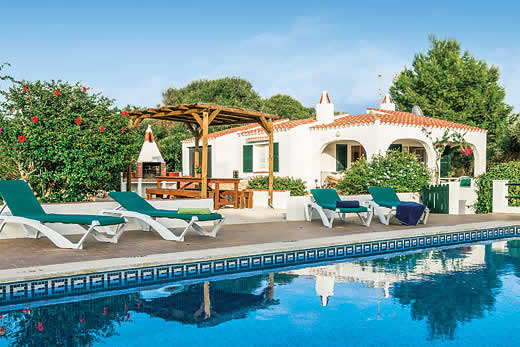 Holiday offer for Menorca self catering