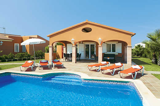 £836.00 for Menorca self catering holiday