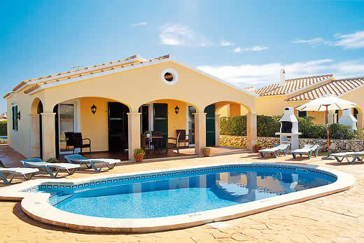£303.00 for Menorca self catering holiday villa