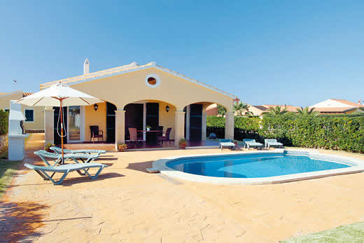 £422.00 for Menorca self catering holiday
