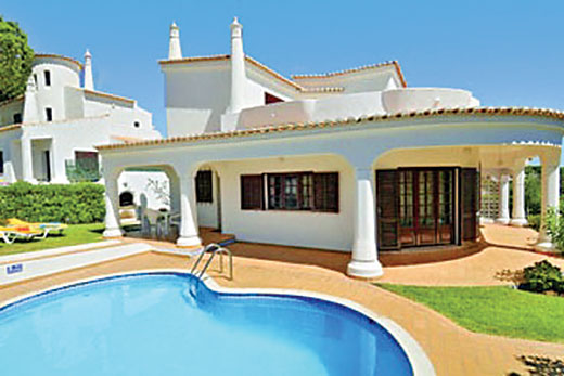 £550.00 for Algarve self catering holiday