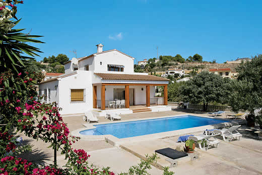 View villa holidays in Costa Blanca