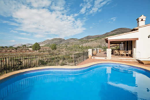 £634.00 for Costa Blanca self catering holiday