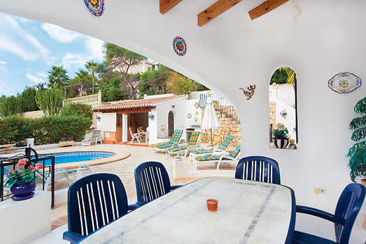 £475.00 for Costa Blanca self catering holiday