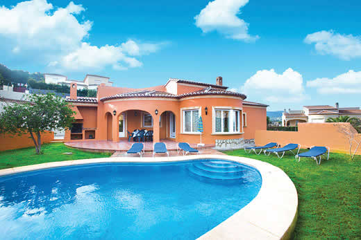 Enjoy a great self catering holiday villa in Costa Blanca