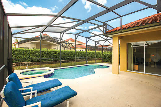 Holiday villa deal for Orlando - Florida with private swimming pool
