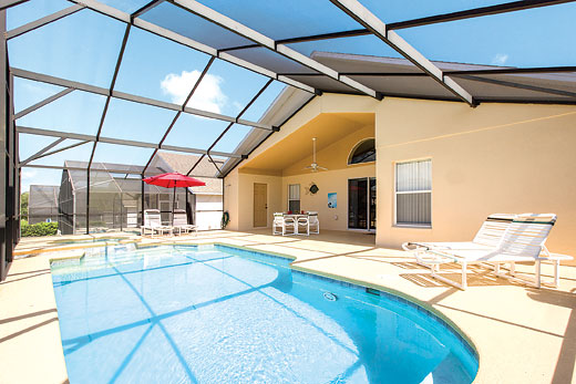 Enjoy a great self catering holiday villa in Orlando - Florida