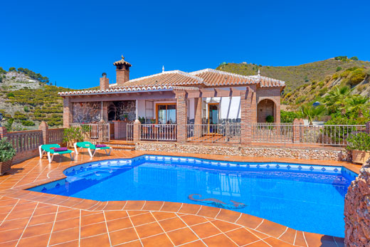 £632.00 for Andalucia self catering holiday