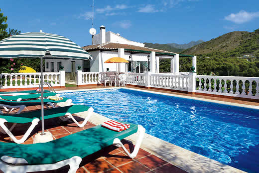 View villa holidays in Andalucia