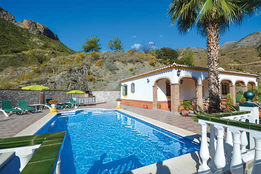 £575.00 for Andalucia self catering holiday