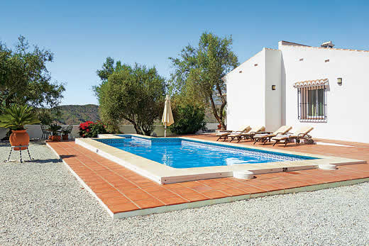 £1078.00 for Andalucia self catering holiday
