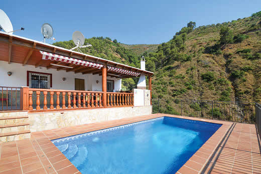 £818.00 for Andalucia self catering holiday