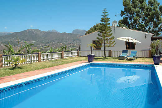 £1102.00 for Andalucia self catering holiday