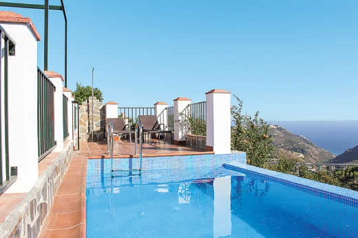£608.00 for Andalucia self catering holiday
