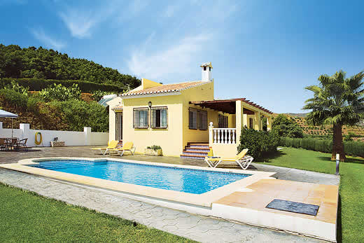 Holiday villa offer for Andalucia with swimming pool