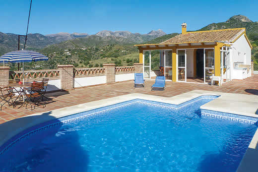 £299.00 for Andalucia self catering holiday villa