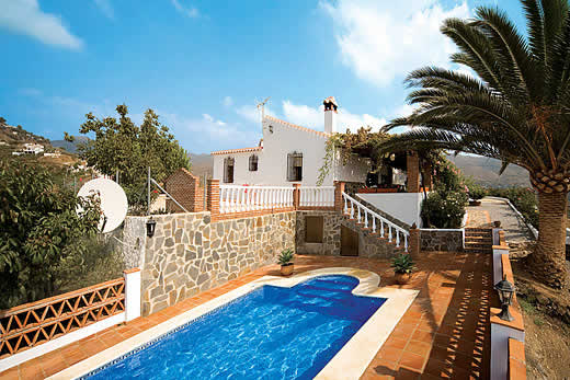 Enjoy a great self catering holiday in  Andalucia